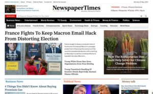 NewspaperTimes WordPress Theme