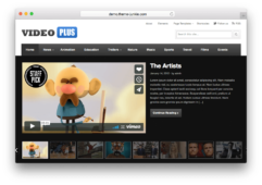 VideoPlus Video Sharing WordPress Theme