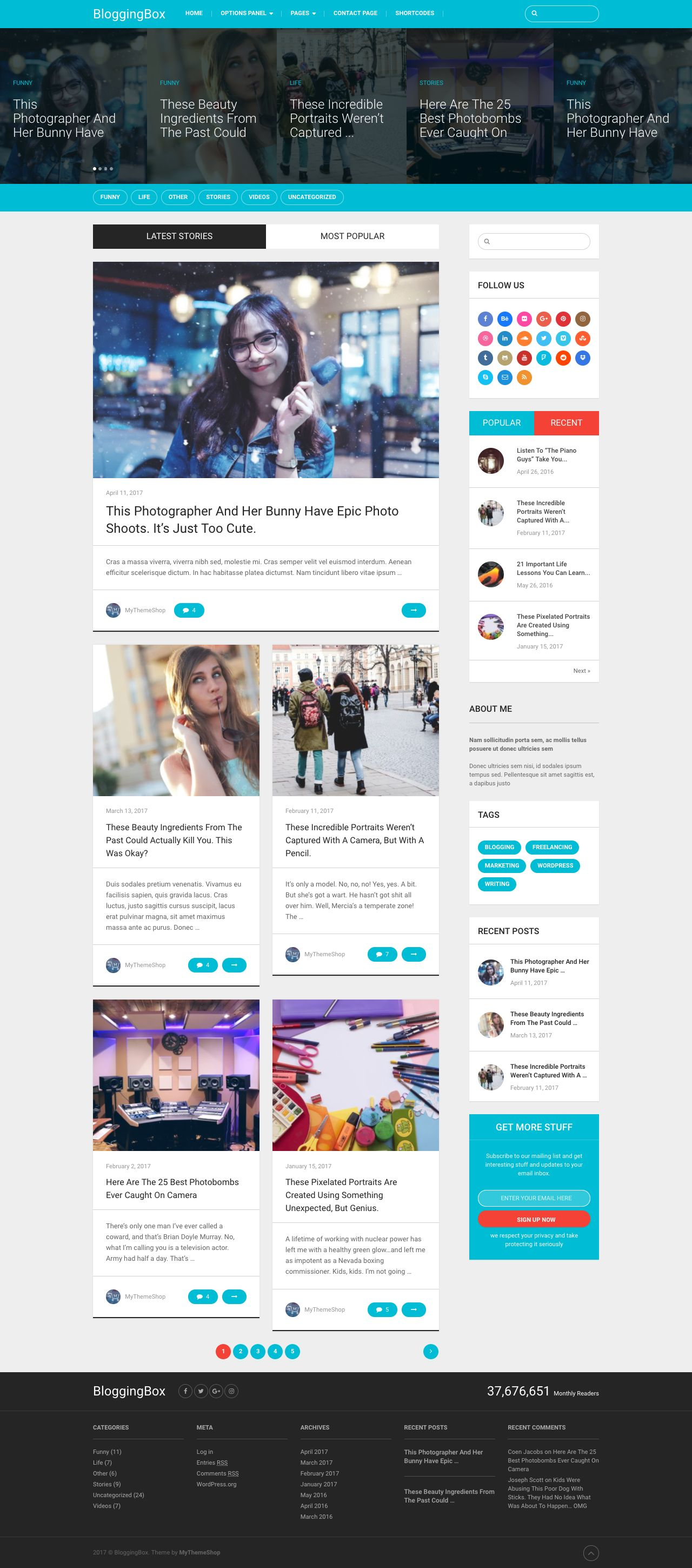 BloggingBox WordPress Theme for Pro Bloggers