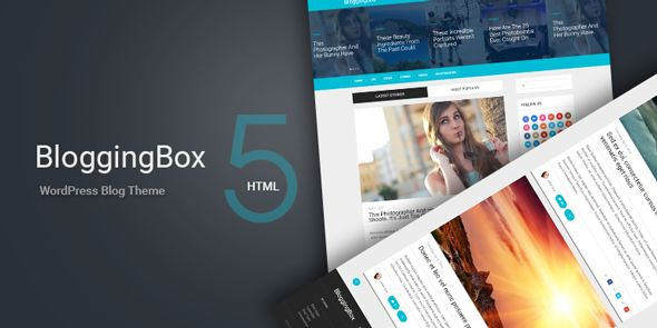 BloggingBox WordPress Theme