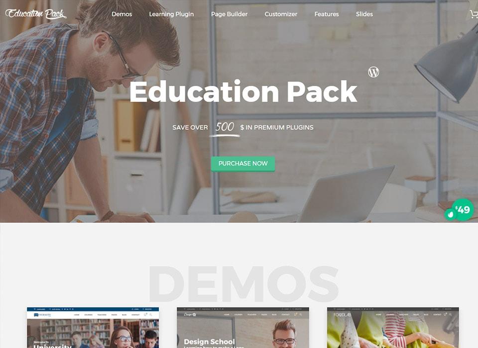 Education Pack WordPress School & College Theme