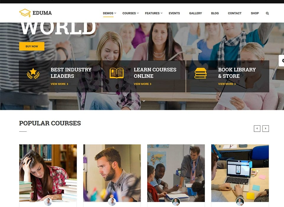 Education WP WordPress Theme