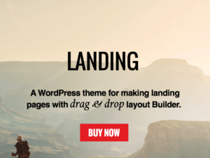 Landing WordPress Marketing Page Theme