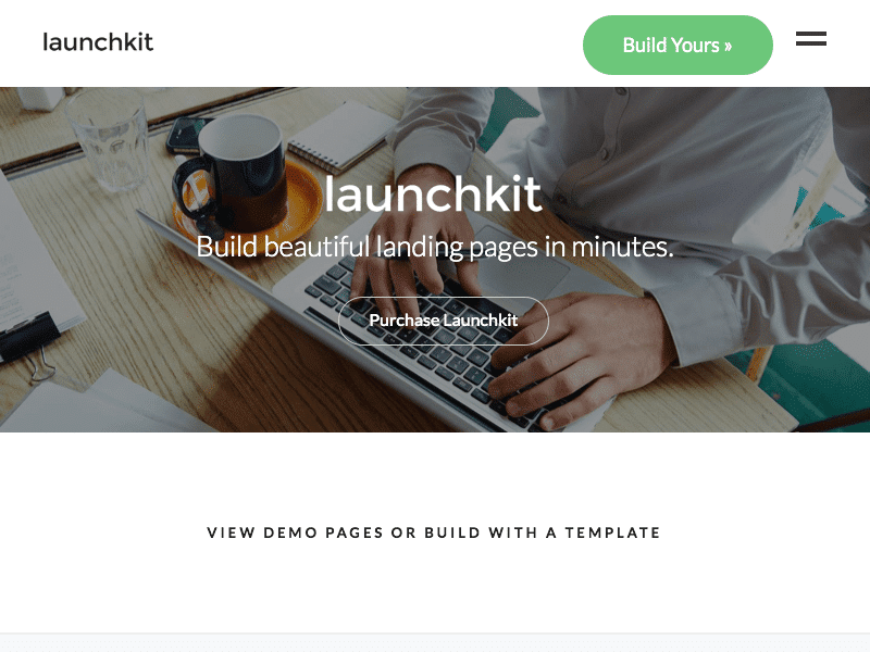 LaunchKit WordPress Theme