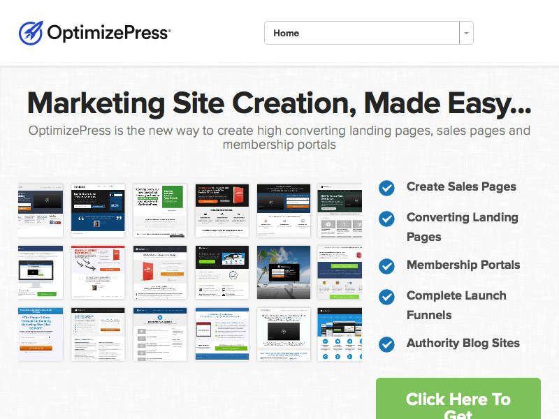 OptimizePress WordPress Landing Pages Theme