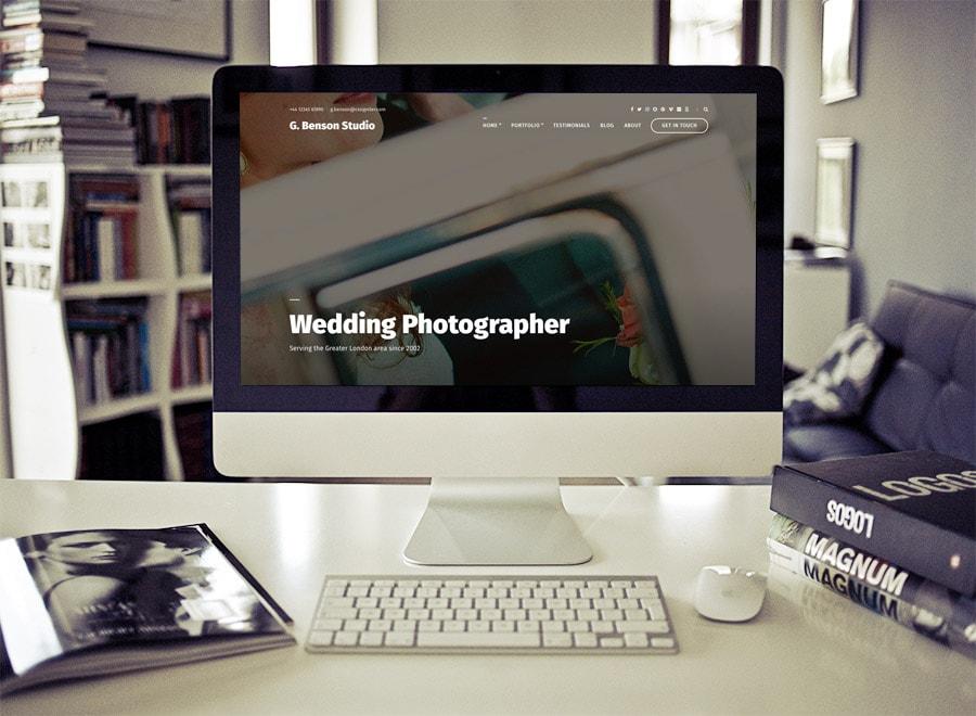 Benson WordPress Photographers Theme