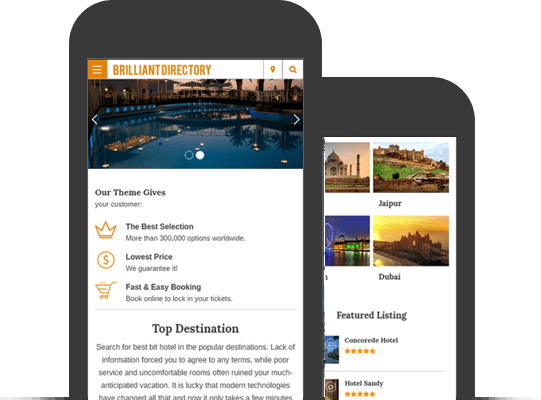 Brilliant Directory Mobile App WordPress Theme