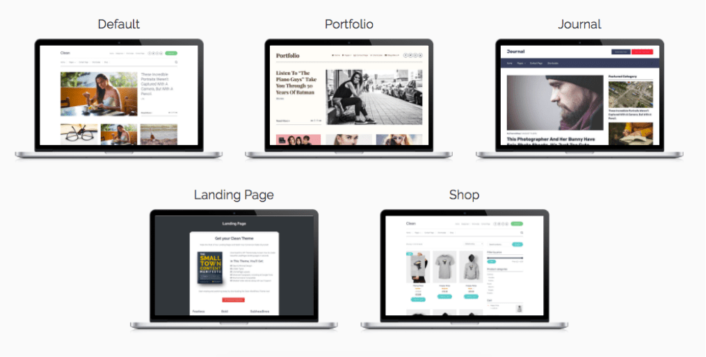 Clean WordPress Pro Bloggers Theme