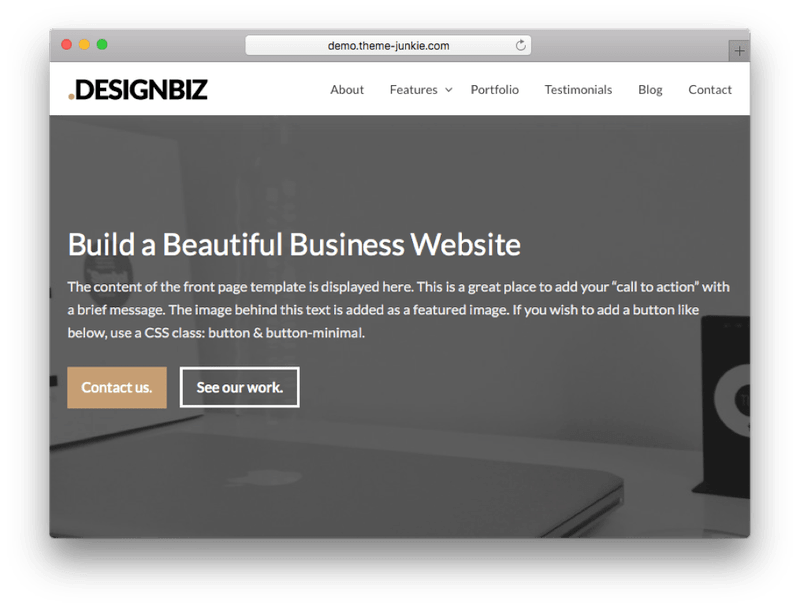 DesignBiz WordPress Theme-min