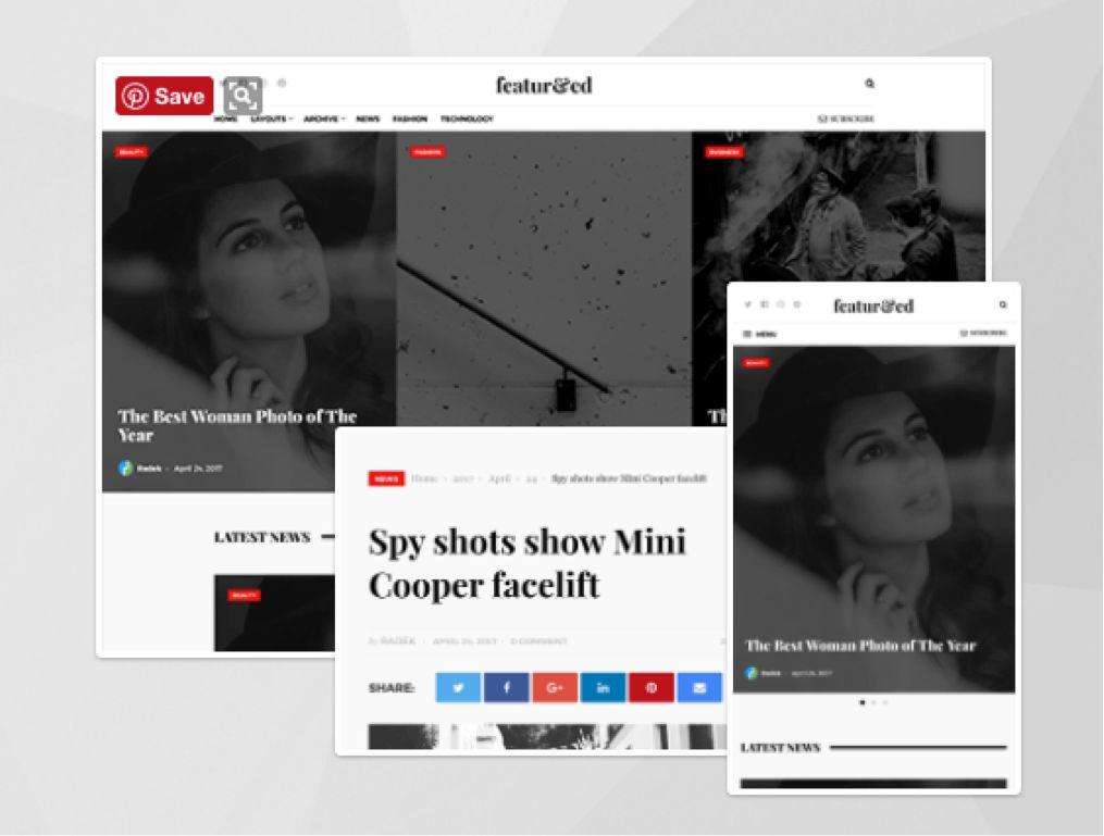 Featured WordPress Theme