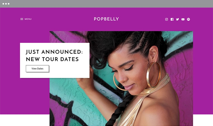 Popbelly Audio WordPress Theme