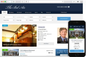 The Bel Air WordPress Theme Real Estate for Agents & Realtors