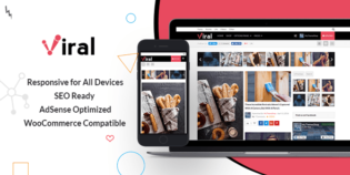 Viral WordPress Social Media Marketers Theme