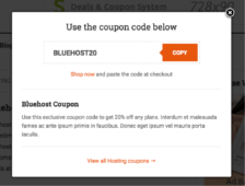 making money with coupon deals site