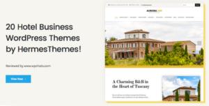 20 Hotel Business WordPress Themes