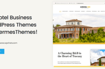 20 Hotel Business WordPress Themes by HermesThemes