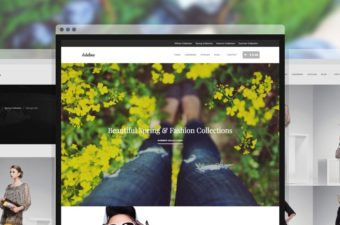 Adeline WordPress Theme for Fashion Clothing Store