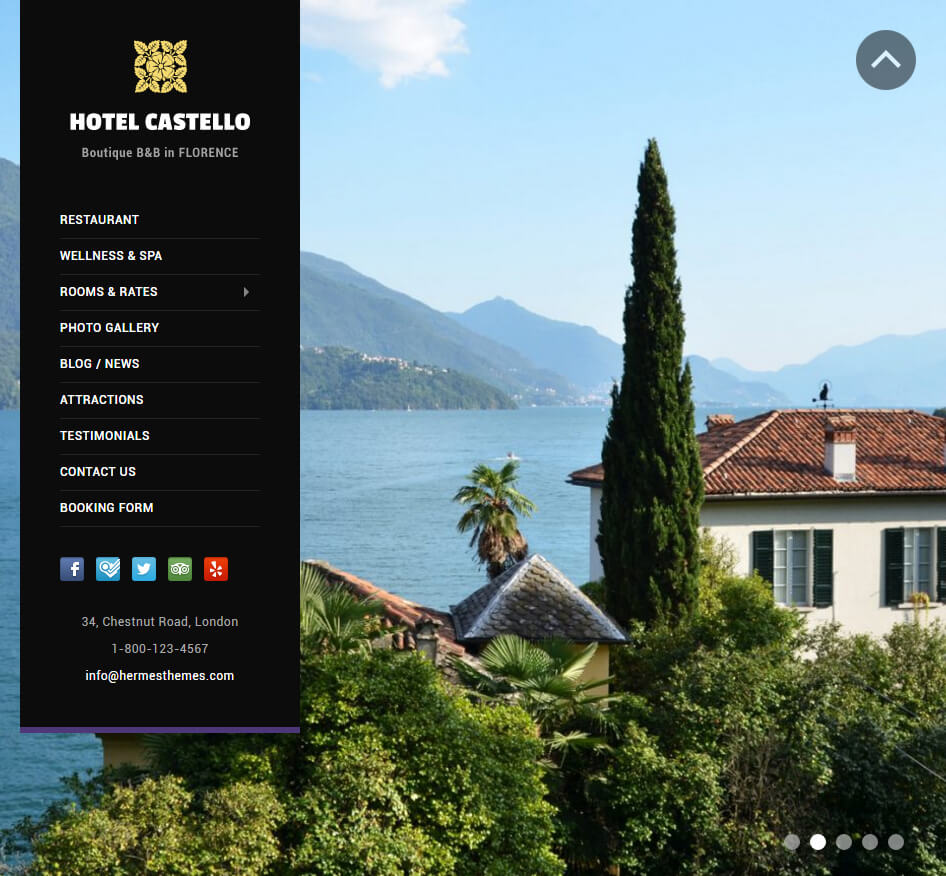 Castello Hotel Business WordPress Theme