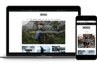 Indigo WordPress Theme for Magazine / Bloggers!