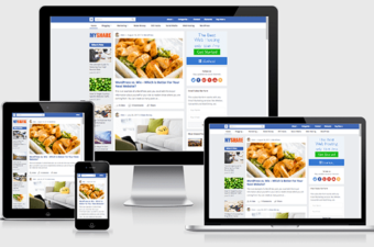 MyShare WordPress Theme like Facebook Layout