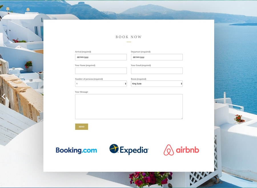 Booking Expedia Airbnb