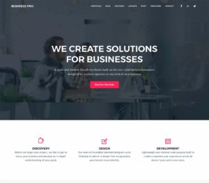 Business Pro WordPress Theme