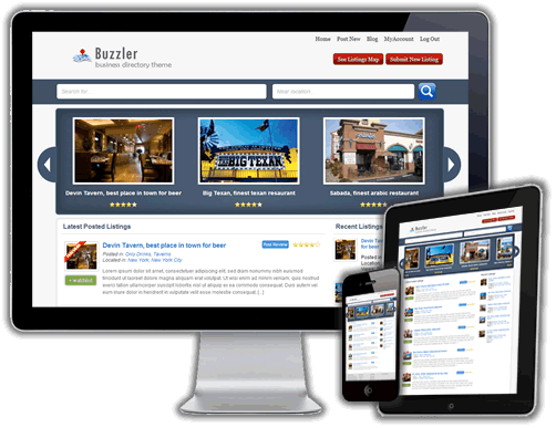 Buzzler WordPress Theme