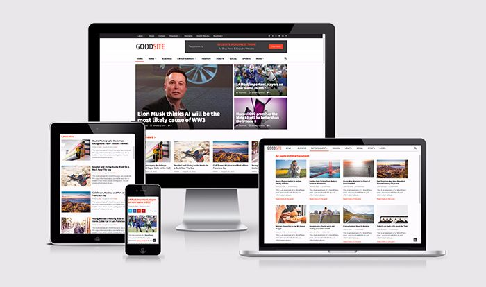 GoodSite WordPress Theme