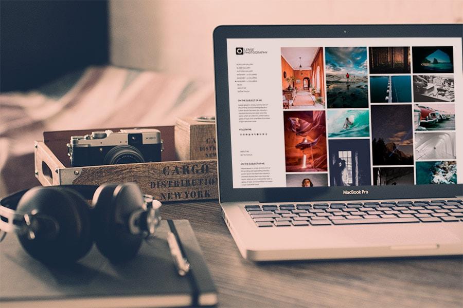 Lense WordPress Photography Theme