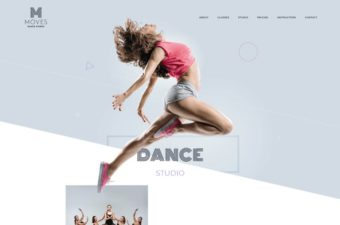 Moves WordPress Theme for Dance Studios & Schools