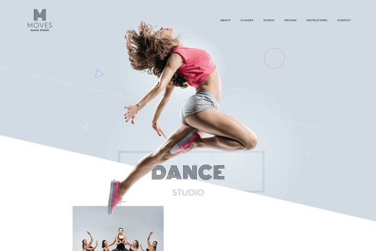 Moves WordPress Theme
