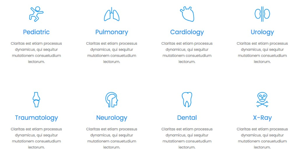 Showcase your Medical Services with Medical Icons