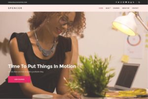 Spencer WordPress Theme