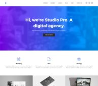 Studio Pro WordPress Theme