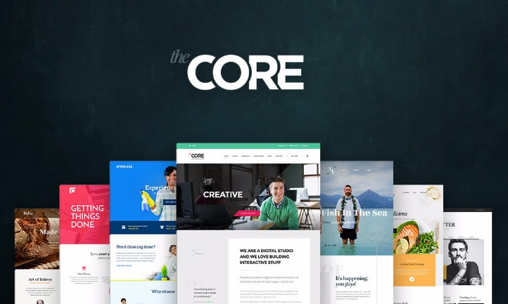 The Core WordPress Theme for Moves