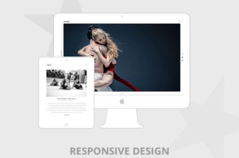 Adagio WordPress Theme for Clean Portfolio