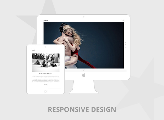 Adagio WordPress Portfolio Theme