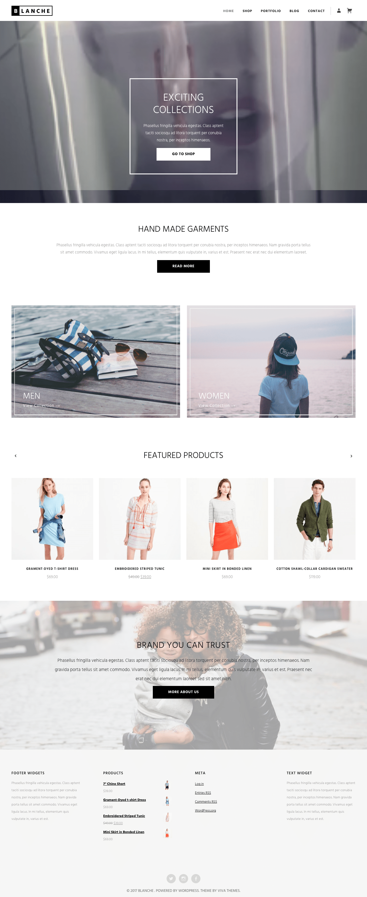 Blanche WordPress Theme