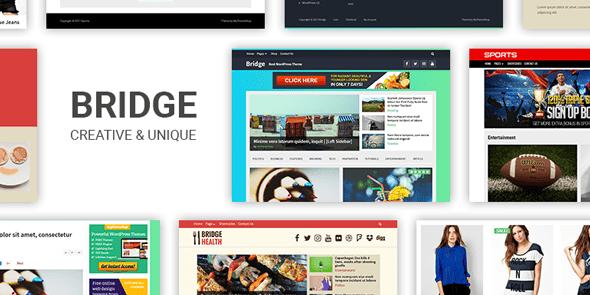 Bridge WordPress Theme