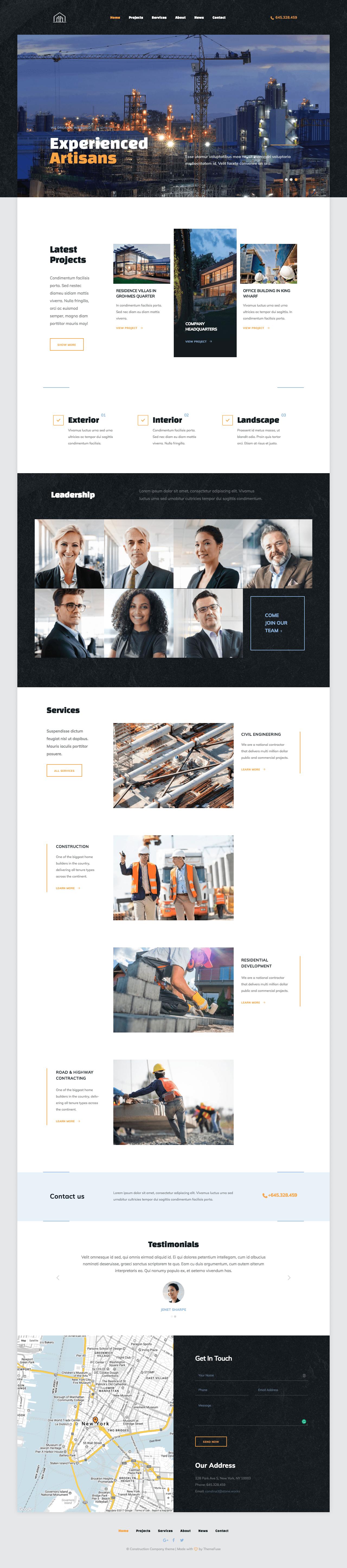 Build Out WordPress Theme
