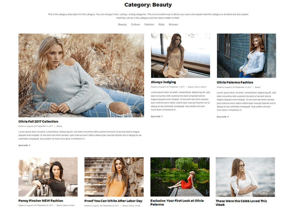 Built-in Modern & Classic Blog Layouts