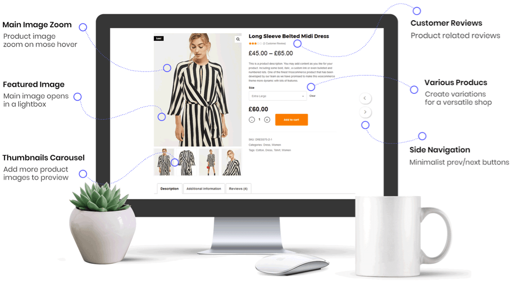 Customize Shop & Product Pages