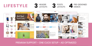Lifestyle Magazine Portal WordPress Theme