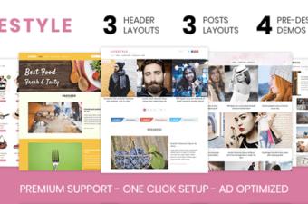 Lifestyle WordPress Theme by MyThemeShop
