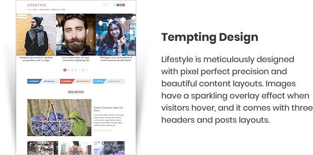Lifestyle Magazine WordPress Theme