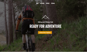 Outdoor Life WordPress Biking & Hiking Club Theme