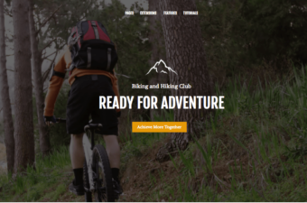 Outdoor Life WordPress Theme for Tourists & Adventurers