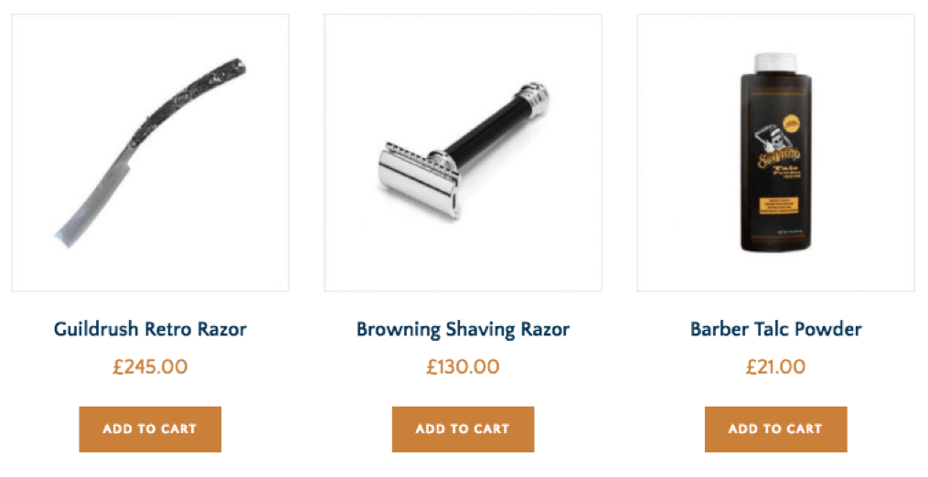 Sell Barbers Goodies Online Shop