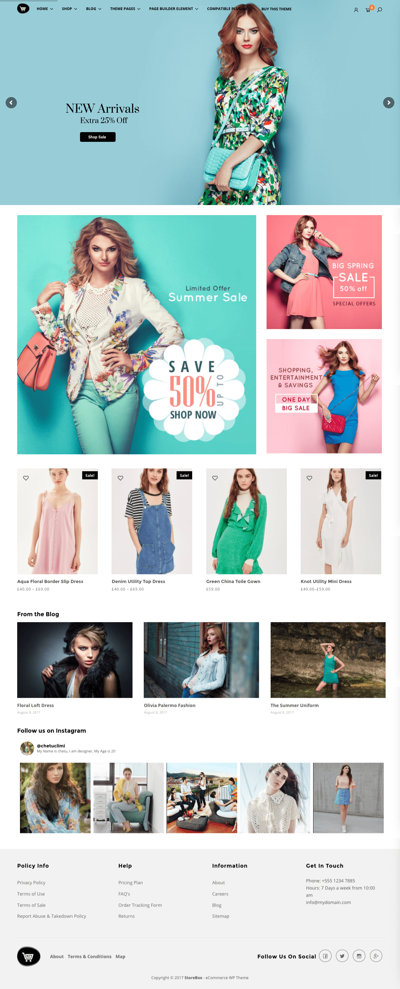 StoreBox WordPress Multi Purpose WooCommerce Theme
