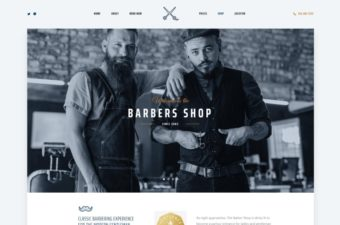The Parlor WordPress Theme for Barber Shop & Hair Salon